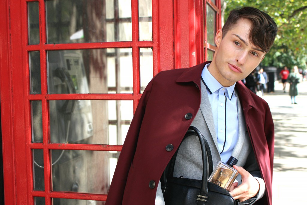 L'Homme Lacoste in London Blogger