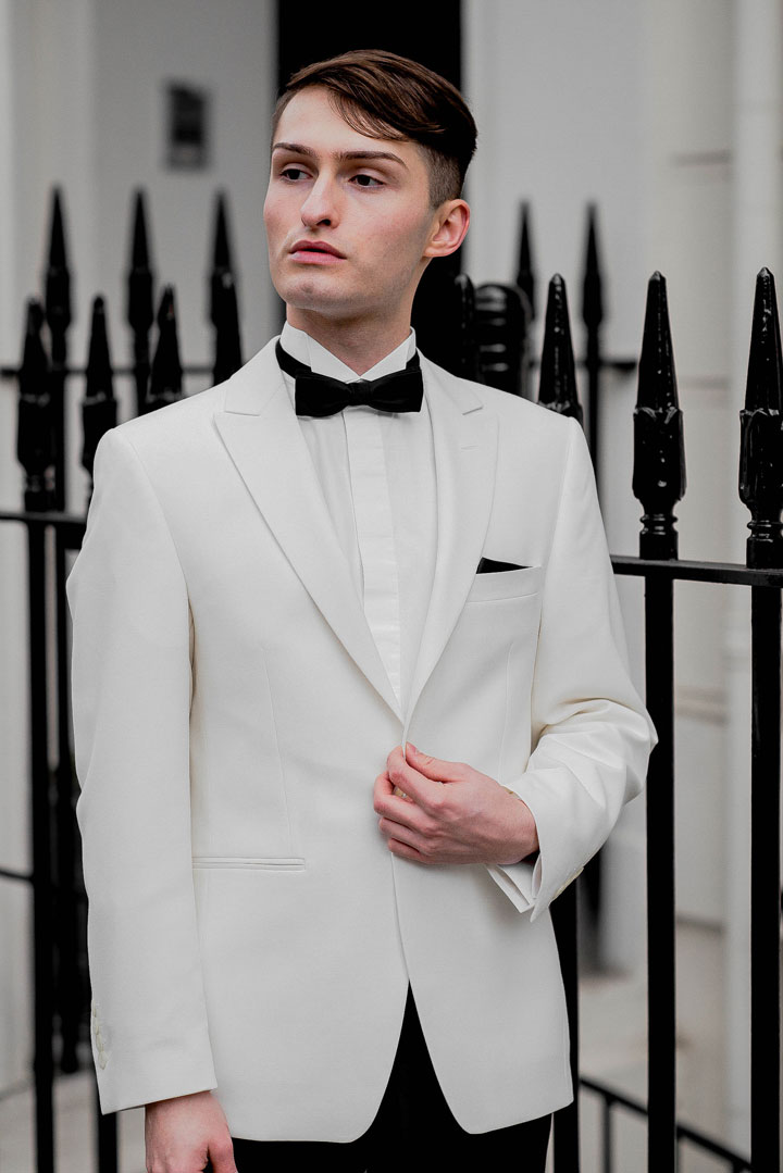 Dinnersakko von WILVORST Outfit für die London Fashion Awards Mister Matthew 2