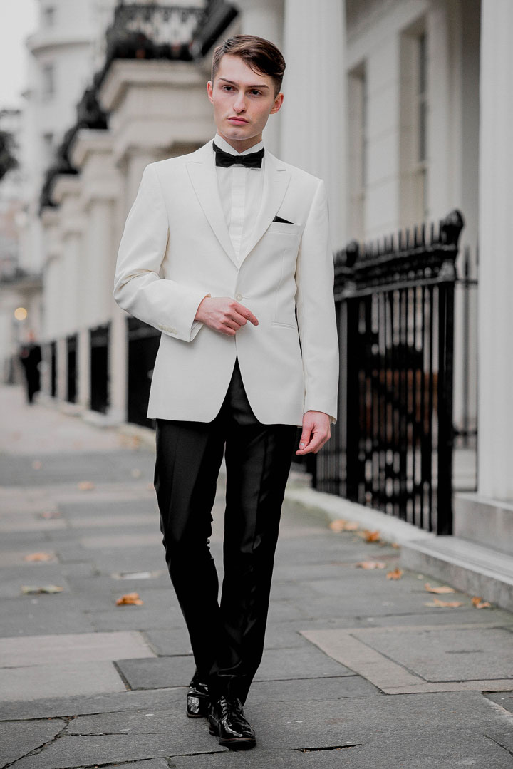 Dinnersakko von WILVORST Outfit für die London Fashion Awards Mister Matthew 3