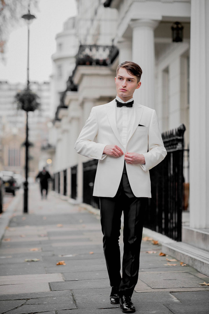 Dinnersakko von WILVORST Outfit für die London Fashion Awards Mister Matthew 7