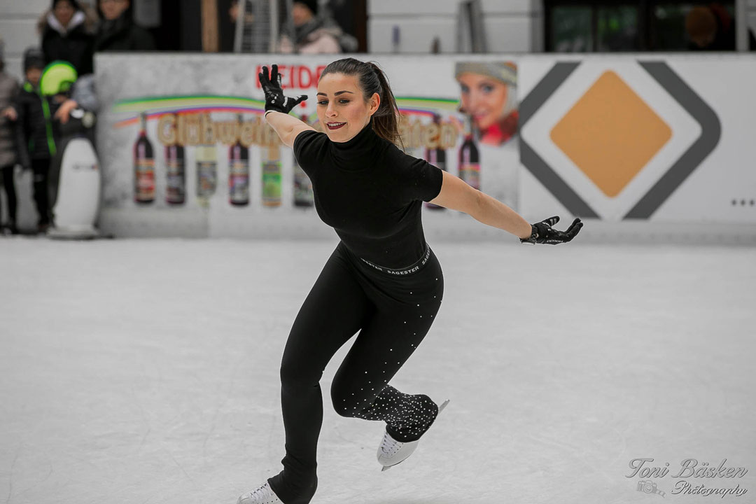 Eislauftraining mit Patricia on Ice